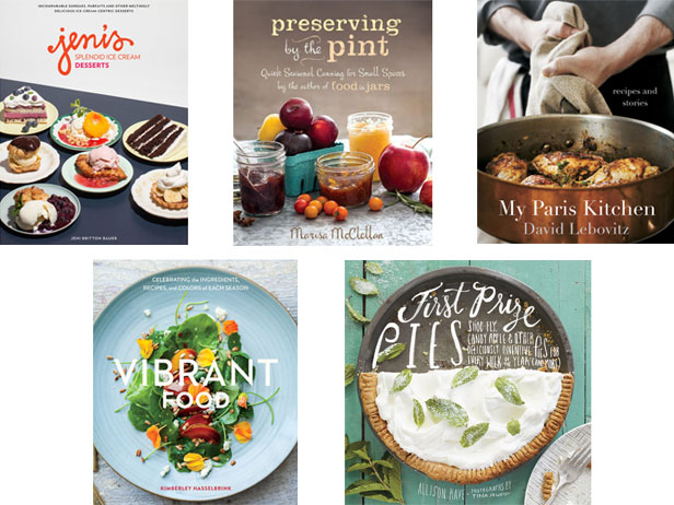 Enter for a Chance to Win Cookbooks Featured in Off the Shelf
