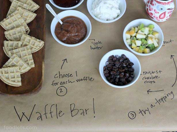Miraculous How To Set Up A Waffle Bar In 3 Easy Steps Fn Dish Interior Design Ideas Gresisoteloinfo
