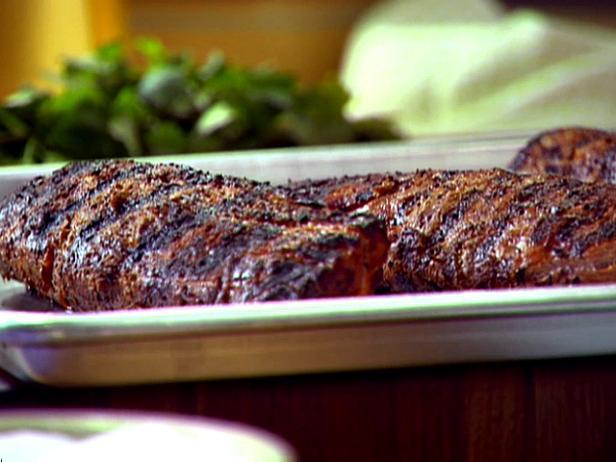 Asian Marinated Grilled Pork Tenderloin Recipe Anne Burrell Food Network