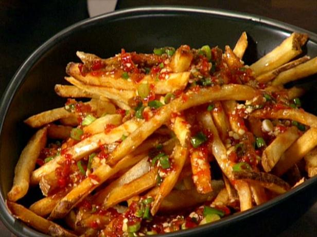 Asian street fries recipe guy fieri food network recipe video forumfinder Gallery
