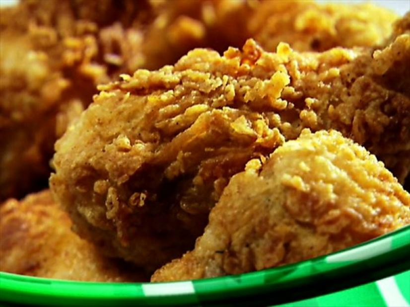 Light And Crispy Fried Chicken Recipe Sandra Lee Food Network