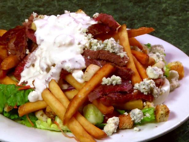 Metro's Pittsburgh Steak Salad | Food Network on