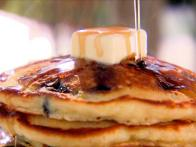 Blueberry Brunch Pancakes