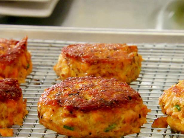 Quinoa and salmon croquettes recipe damaris phillips food network recipe video forumfinder Choice Image