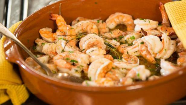 Roasted Shrimp In A Cazuela Food Network