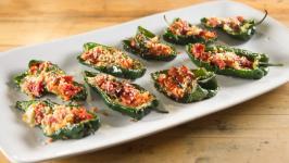 Creamy Poblano Pepper Strips   Food Network